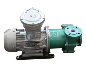 CQB-F型氟塑料磁力泵产品图片