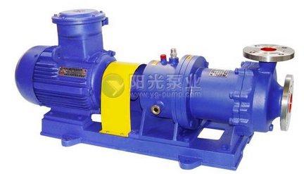 磁力驱动泵一般故障与排除方法