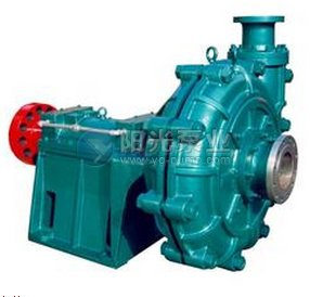 渣浆泵工作原理介绍