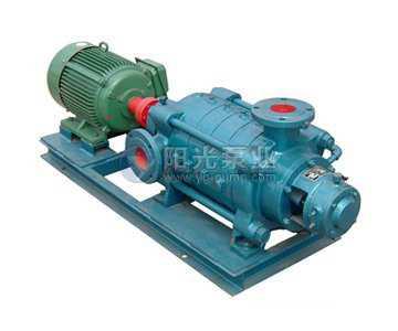 卧式多级离心泵安装过程中的管路连接